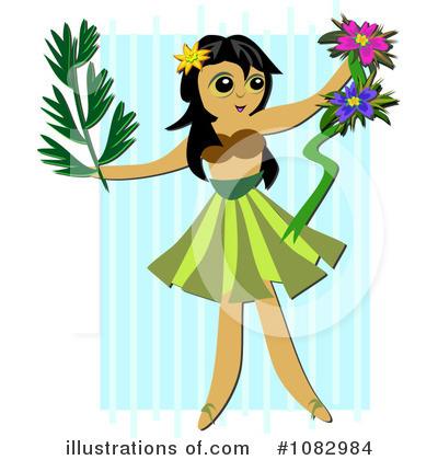 400x420 Hula Dancer Clipart