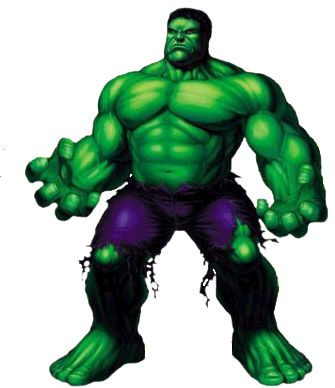 335x388 Hulk Cartoon Clipart