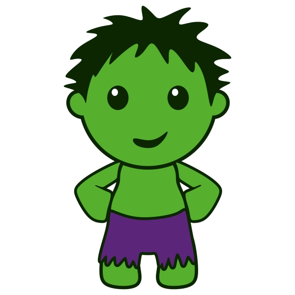 600x600 Hulk Clipart Baby