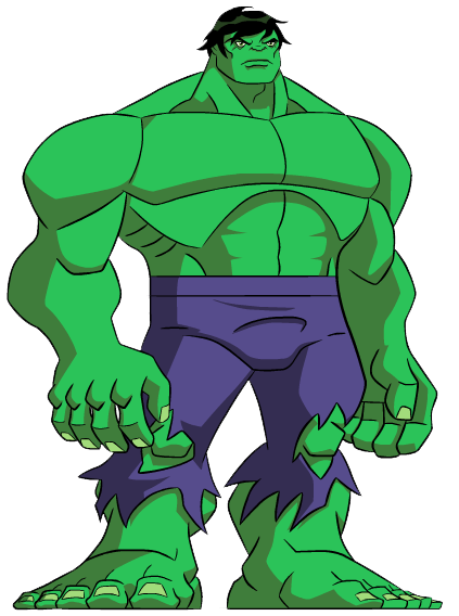 423x568 Hulk Cliparts