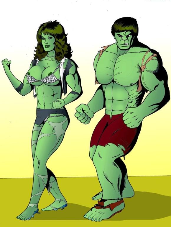 580x769 She Hulk Clip Art