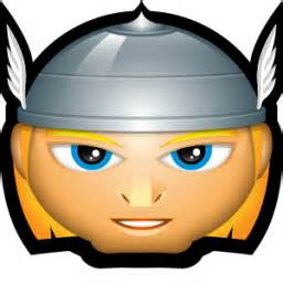 256x256 Thor Clipart Face'91668
