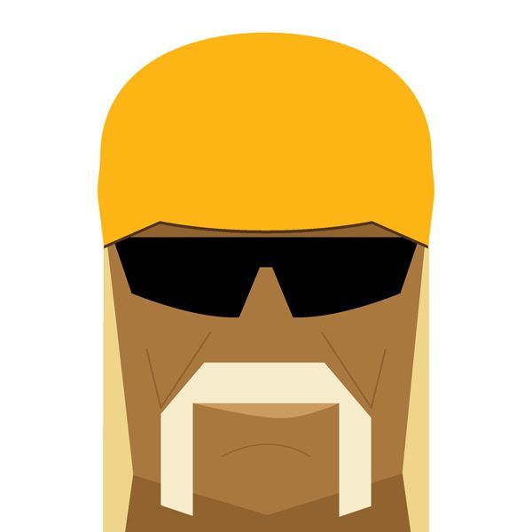 600x600 Hulk Hogan Illustration.
