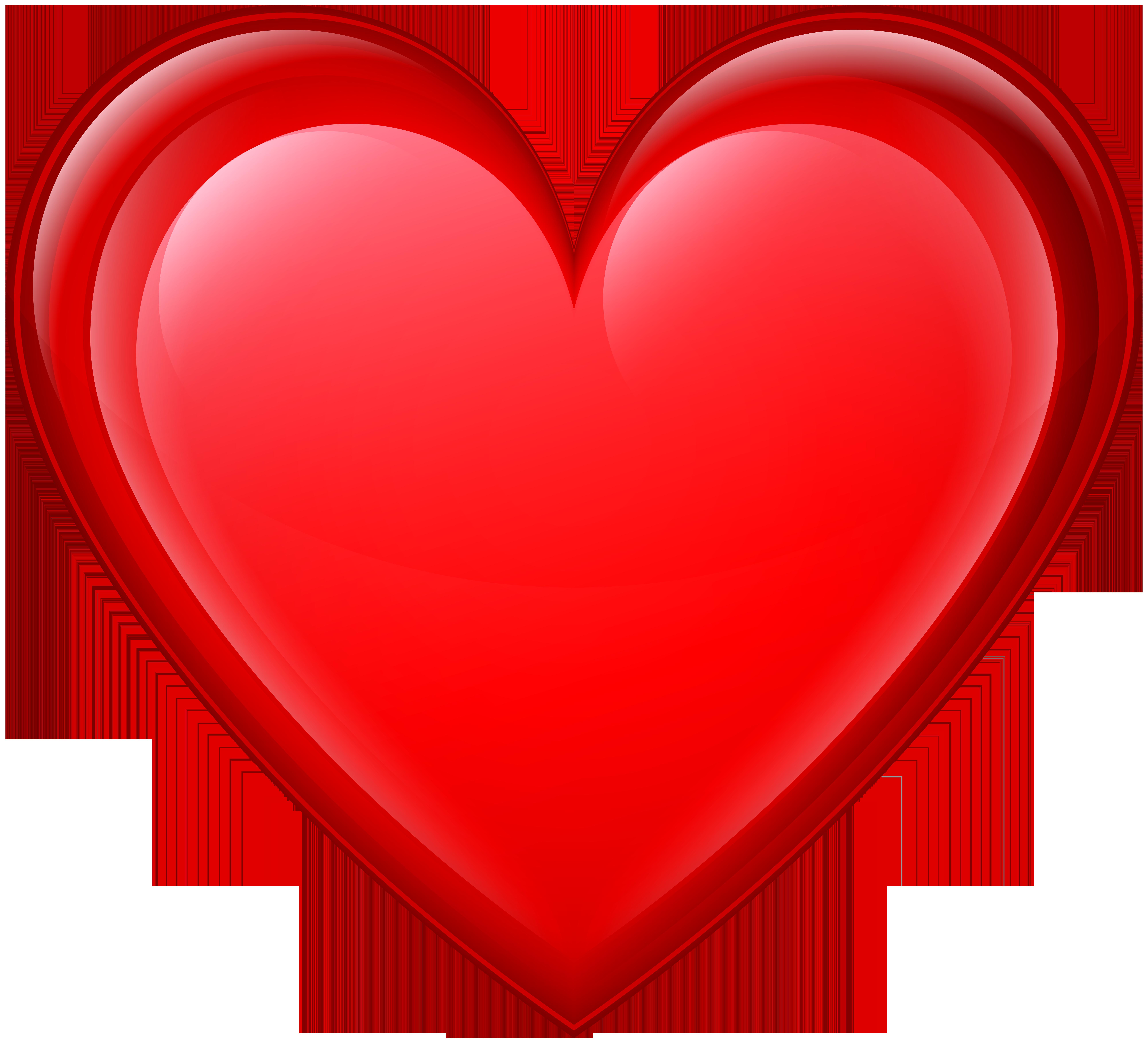 8000x7271 Heart Red Png Transparent Clip Art Imageu200b Gallery Yopriceville