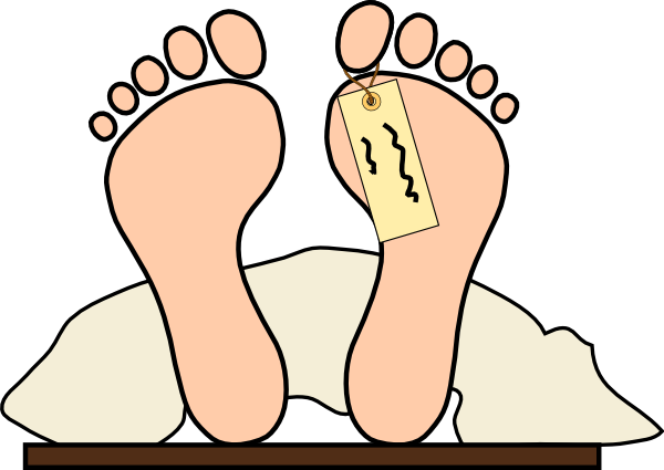 600x425 Dead Body Outline Clipart