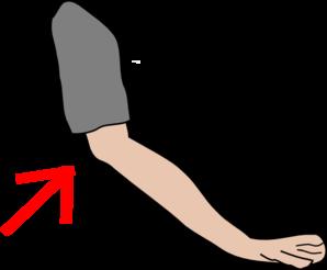 298x246 Elbow With Arrow Clip Art