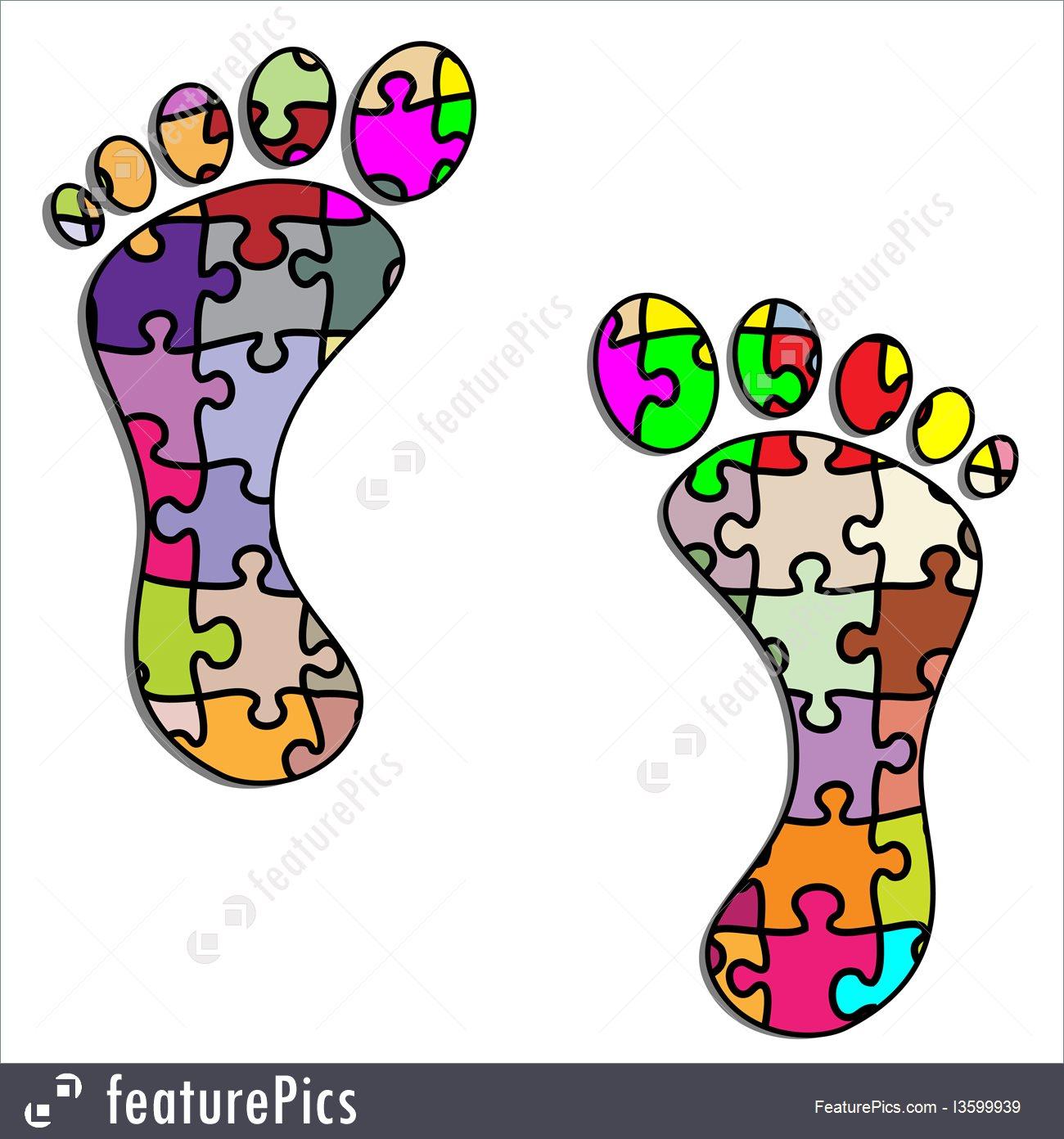 1300x1392 Human Body Parts Footprints