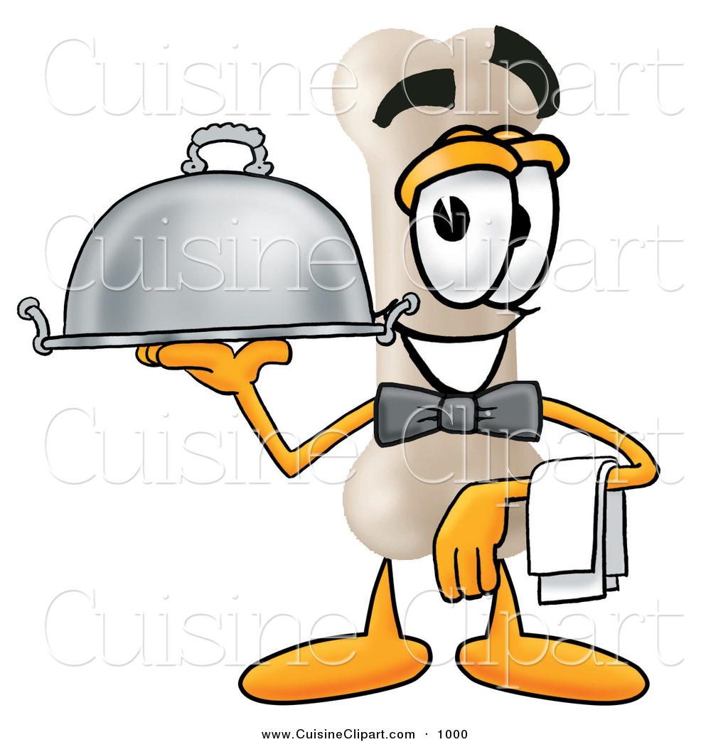 1024x1044 Cuisine Clipart Of A Happy Bone Mascot Cartoon Character Dressed