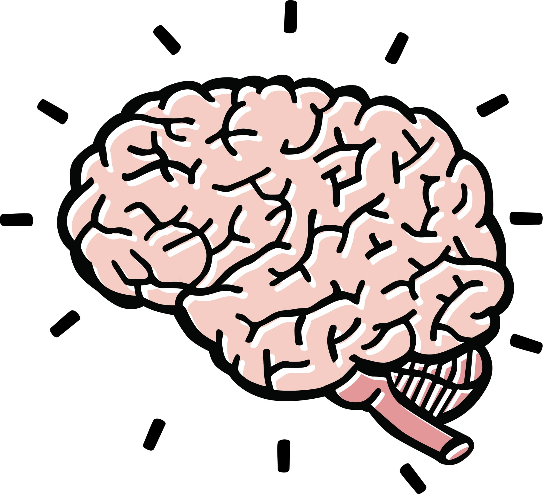 1817x1653 Great Of Human Brain Clipart For Kids Letters Format