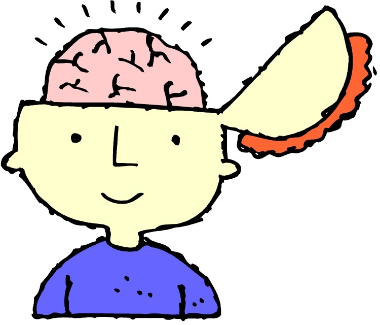 750x640 Awesome Of Brain In Girl Head Clipart