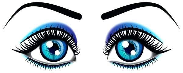 600x240 Free Clip Art Eye Eyeball Coloring Pages Two Eyes Coloring Page