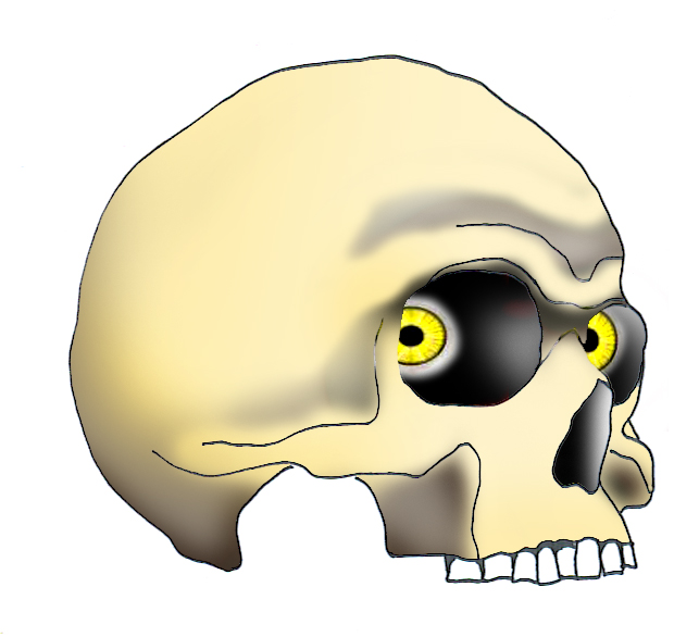 643x586 Cool Skull Clip Art (And Funny!)