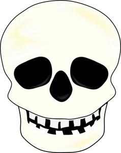 238x300 Happy Skull Clipart