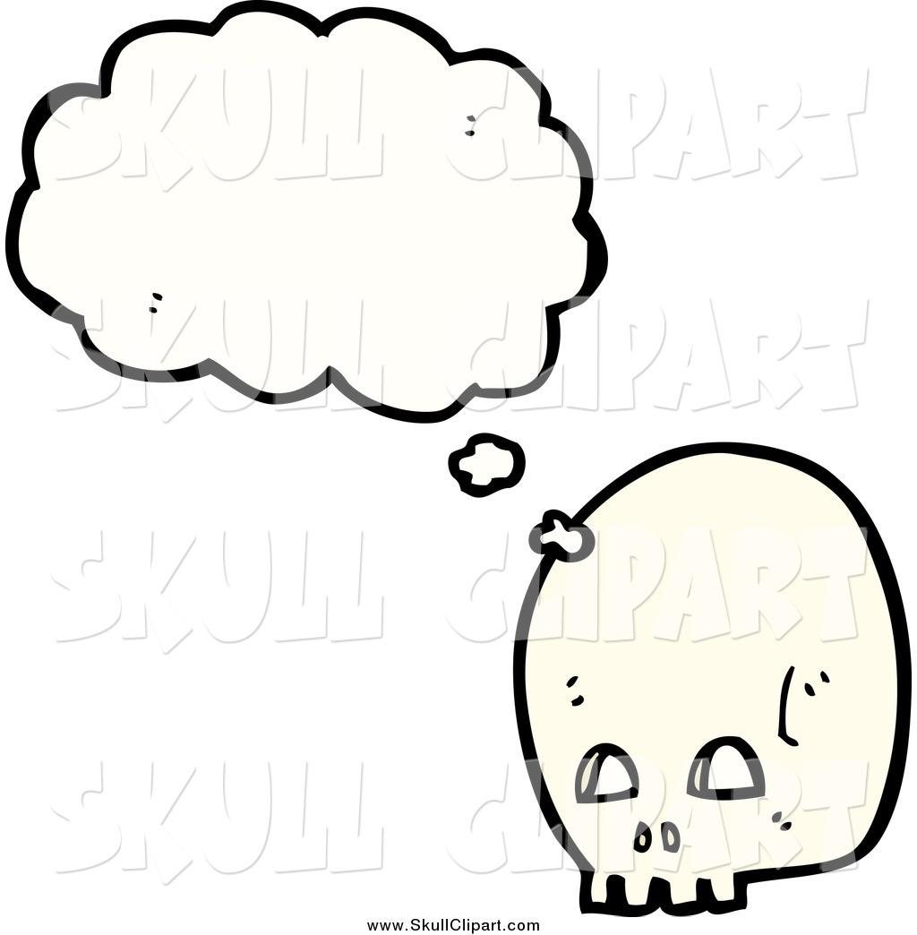 1024x1044 Skull Thinking