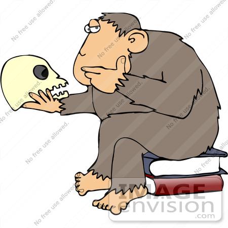 450x450 Clip Art Graphic Of A Cartoon Parody Of Rheinhold'S