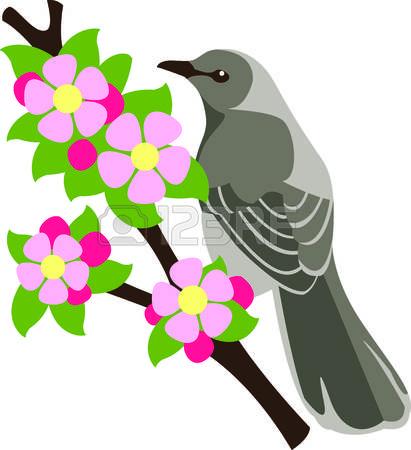 411x450 Mockingbird Clipart Hummingbird