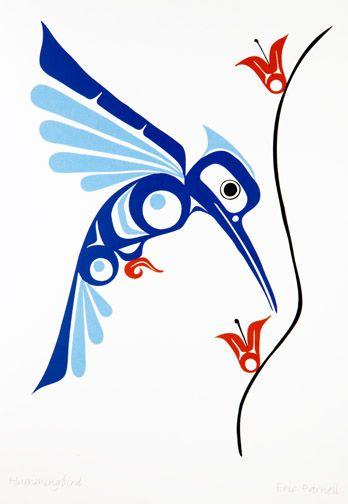 348x504 Totem Pole Clipart Hummingbird