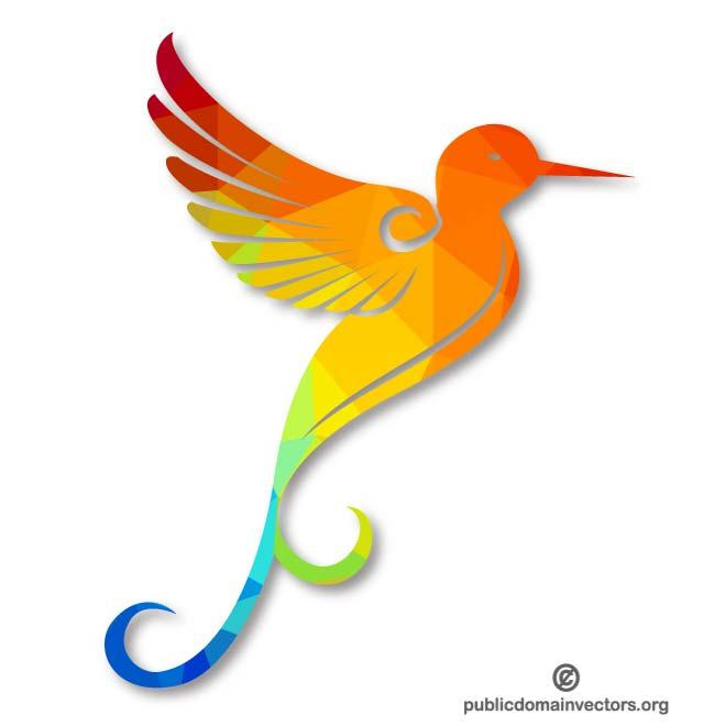 660x660 Colorful Hummingbird