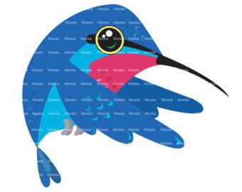 340x270 Cute Hummingbird Clipart