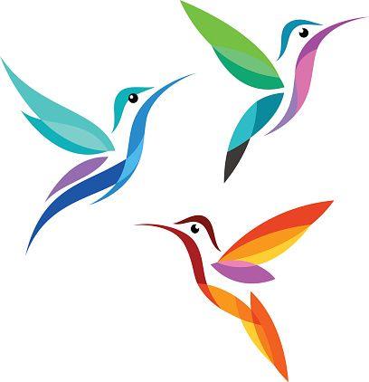 408x422 Nice Hummingbird Clipart