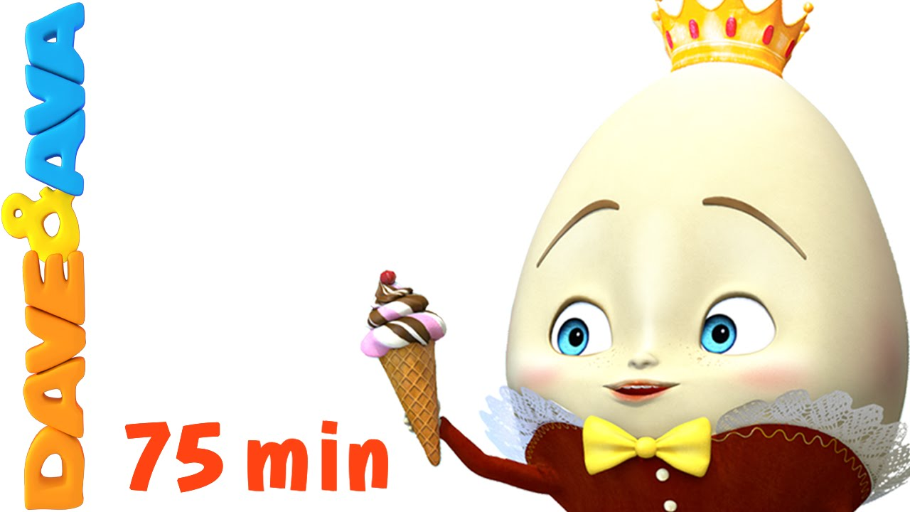 1280x720 Humpty Dumpty Nursery Rhymes Collection And Baby Songs From Dave