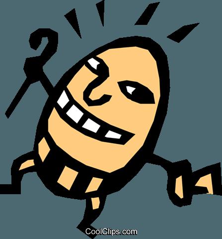 447x480 Humpty Dumpty Royalty Free Vector Clip Art Illustration Even0316