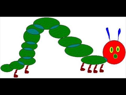 480x360 Hungry Little Caterpillar Kindergarten Nursery Rhyme