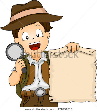 406x470 Collection Of Treasure Hunter Clipart High Quality, Free