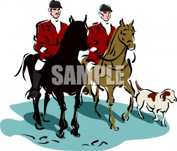 350x298 Men Going On A Fox Hunt