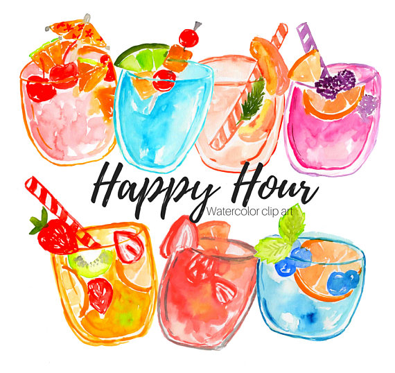 570x538 Happy Hour Clip Art Drinks Clipart Food Clipart