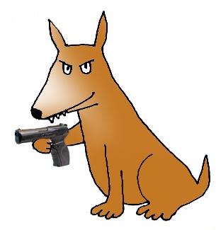 305x325 Dog Clip Art