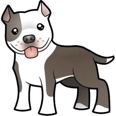 400x400 Collection Of Pitbull Dog Clipart High Quality, Free