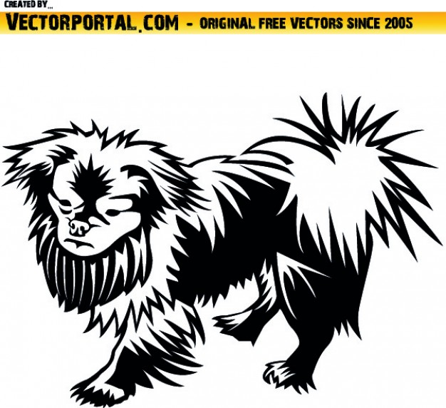 626x572 Pekingese Dog Pet Clip Art Vector Free Download
