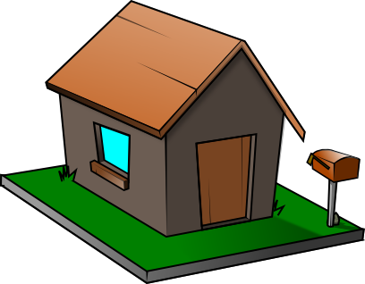 408x318 House Clip Art Microsoft Free Clipart Images