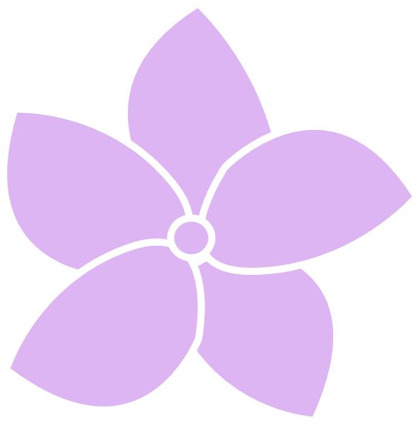 594x600 Hydrangea Flower Purple Clip Art
