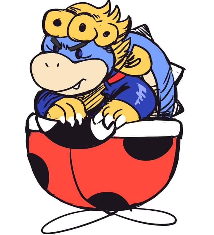 720x793 I, Bowser Jr Have A Dream Super Mario Know Your Meme