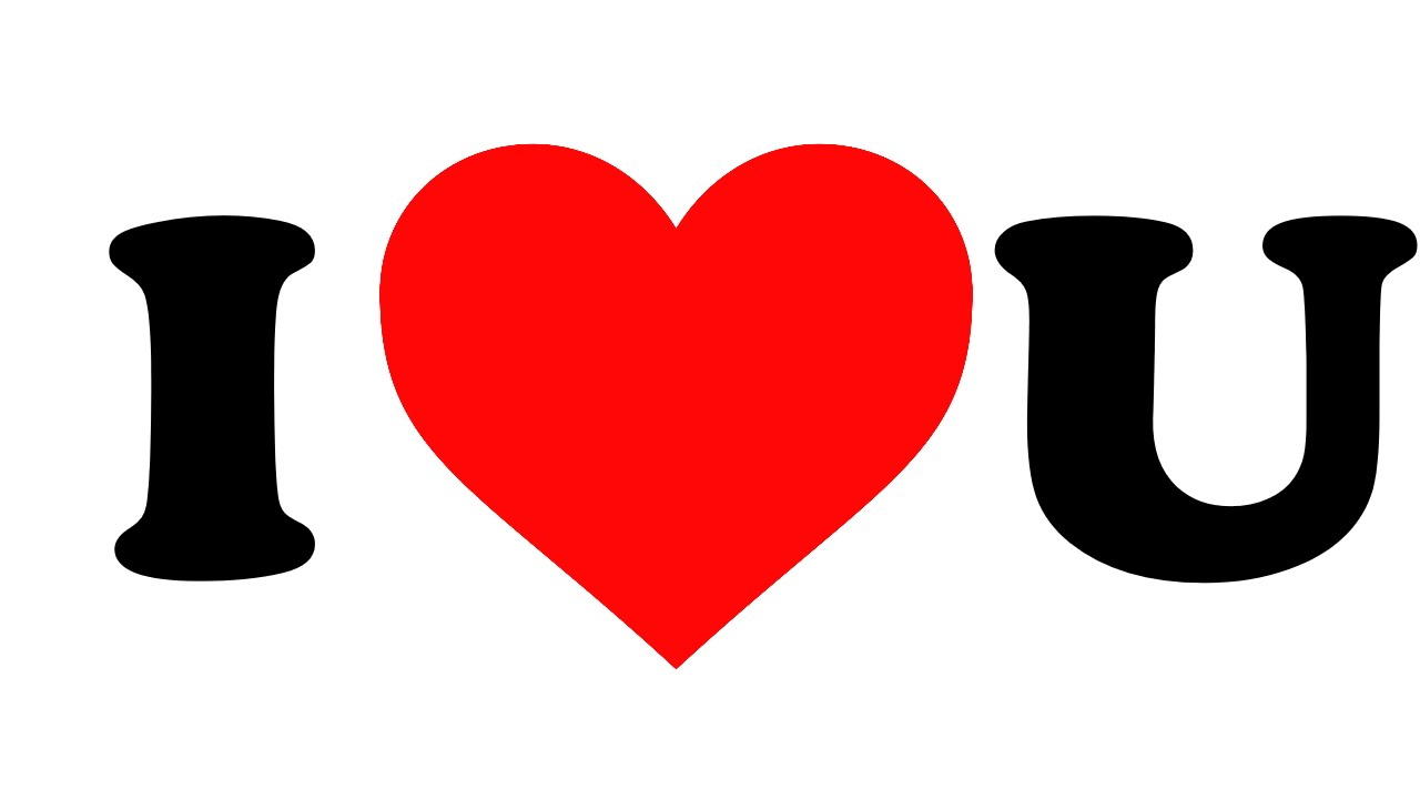 1280x720 Collection Of I Love U Clipart High Quality, Free Cliparts