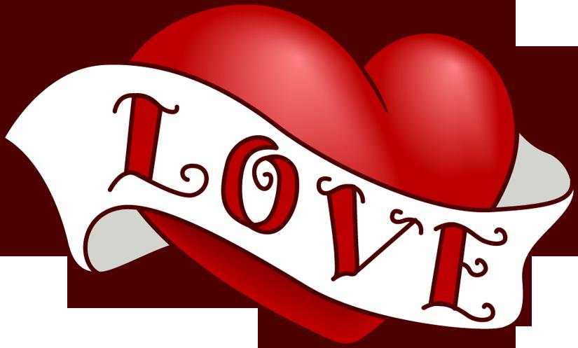 825x497 Vintage Heart Clip Art Design For Valentine's Day Heart Month