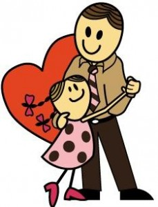 229x300 Father And Daughter Clipart Collection