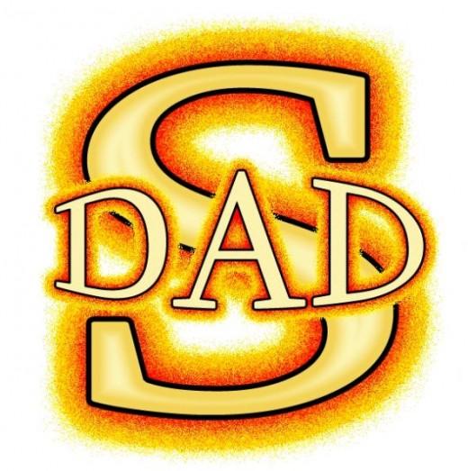 520x523 Super Dad Cliparts