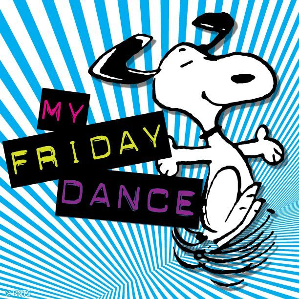 612x612 Snoopy Happy Dance Cartoon Snoopy Snoopy Does The Friday Dance
