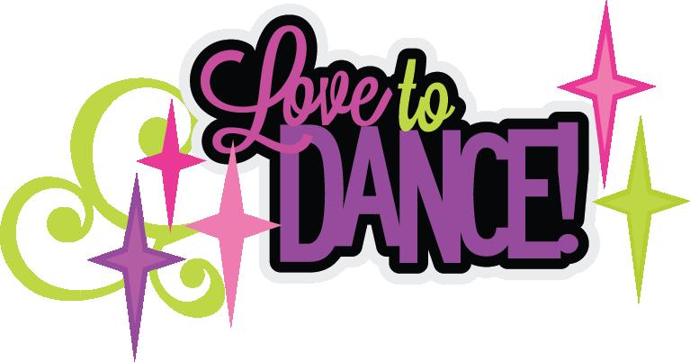 767x402 I Love To Dance Clip Art