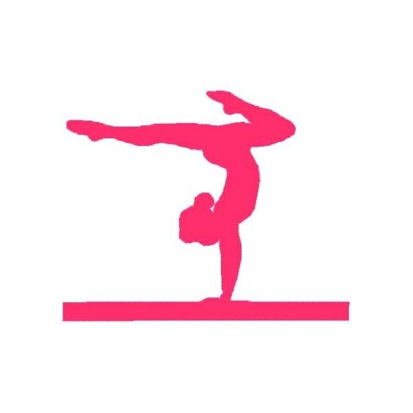 I Love Gymnastics Clipart