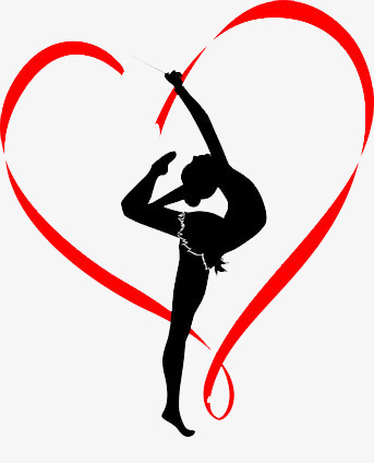 343x424 Gymnastics Member, Female, Love, Red Png Image And Clipart