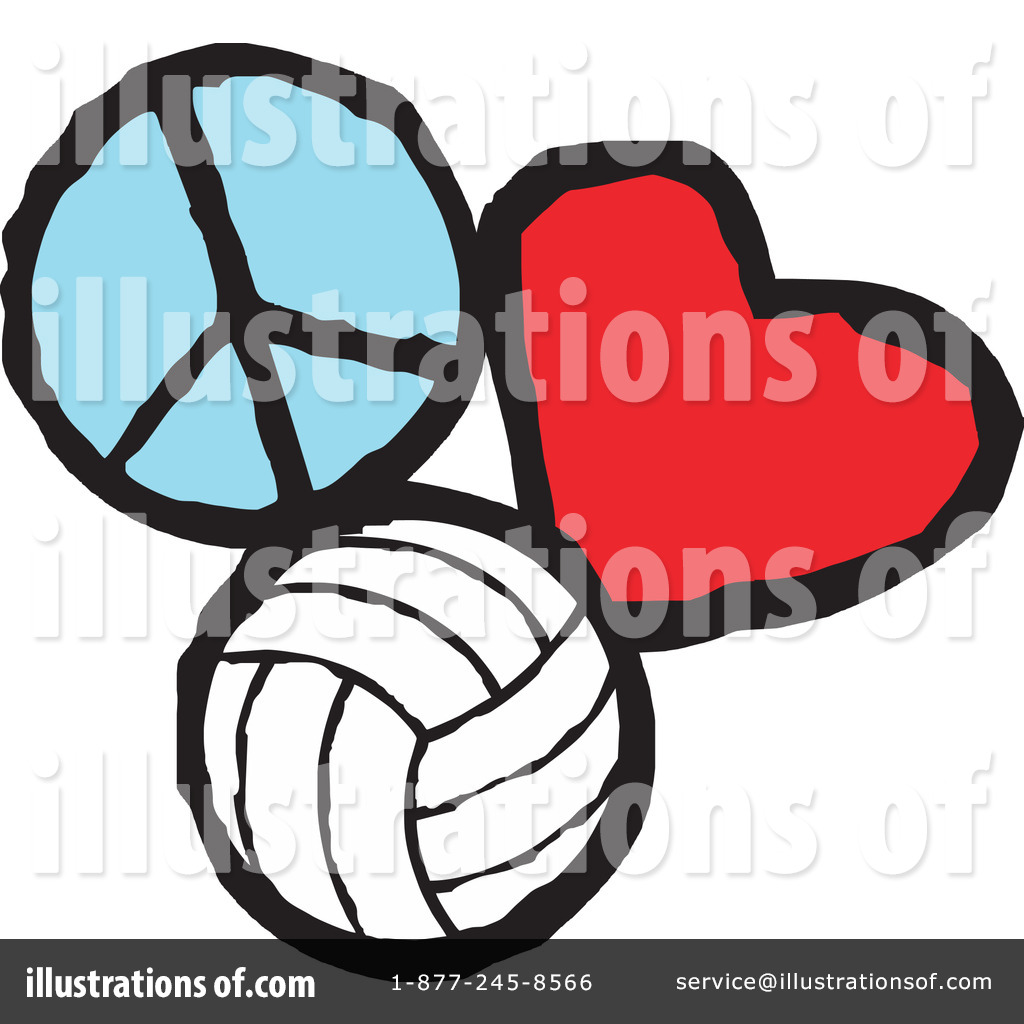1024x1024 Volleyball Clip Art