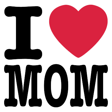 378x378 I Love Mom Mothers Day Logo Png