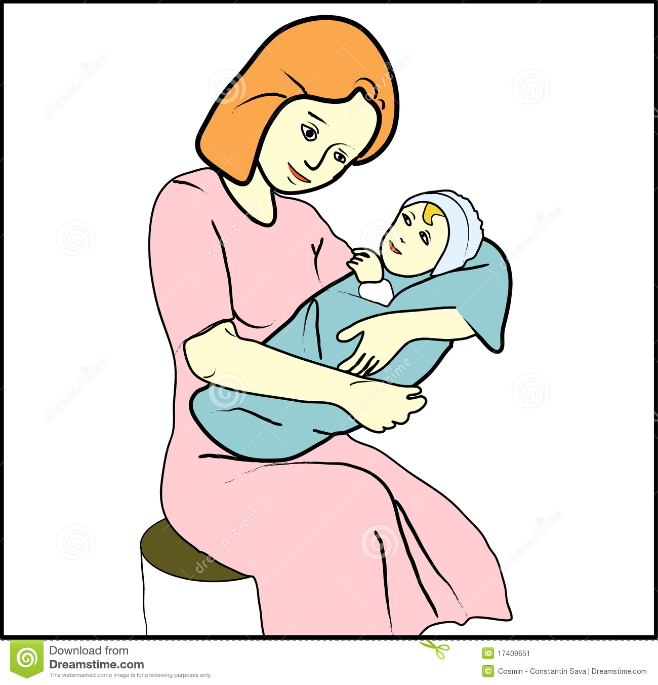 1300x1352 Mother With Child Clipart