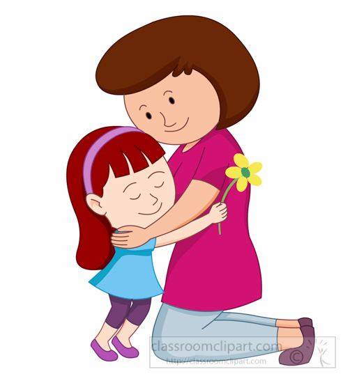 502x550 Pictures Mother Daughter Clip Art,