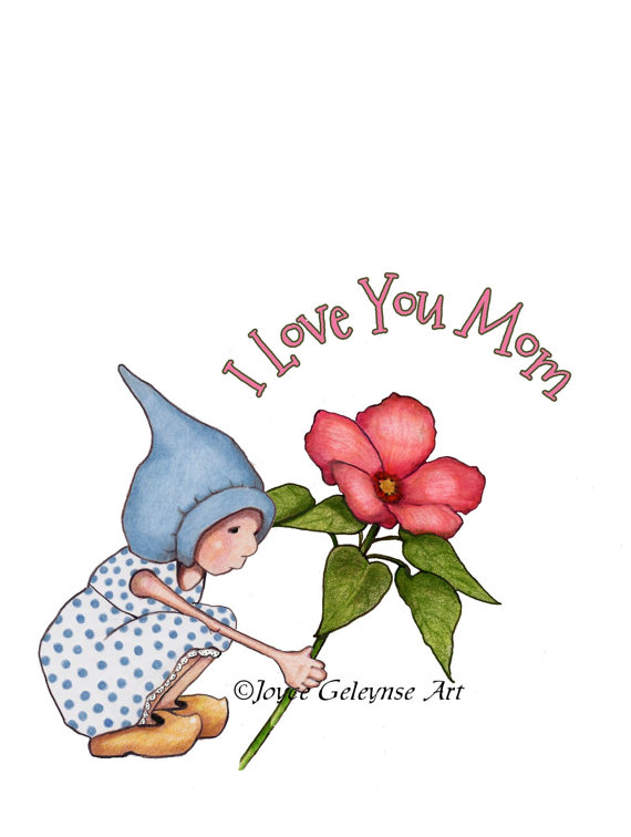 570x756 Sign Language I Love You Mom Clipart