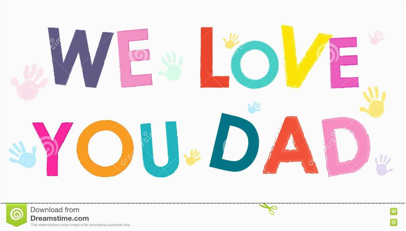 1300x740 I Love You Dad Clip Art